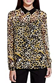Limited Edition Animal Print Blouse [T69-2707I-S]