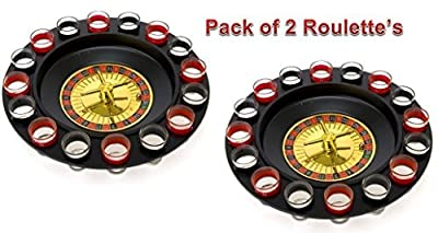 Maxam 16 Shot Roulette Drinking Game Set - Pack of 2