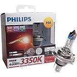 PHILIPS(フィリップス)ハロゲンバルブ エクストリームヴィジョン XV-H-4 3350K XV-H4-1