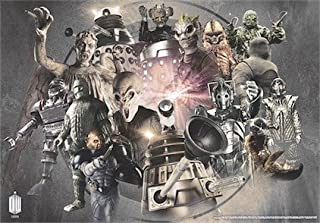 Doctor Who Wallpaper Mural - Enemies 2 (Fixed Size)