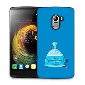 Snoogg Shark Designer Protective Phone Back Case Cover For Lenovo Vibe K4 Note