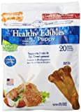 Nylabone Healthy Edible 20 Count Puppy Petite for Pets, Lamb/Apple