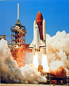 Amazon.com - NASA Photo Space Shuttle Blast Off Challenger 16x20 Art