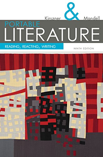 Portable Literature: Reading, Reacting, Writing (The Kirszner/Mandell Literature Series) (Kirszner Portable Literature compare prices)