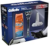 Gillette ProGlide Football Gift Set includes Fusion Razor/ 75 ml Shave Gel/ Razor Stand