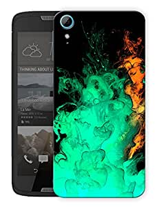 """Humor Gang Smoke And Smoke Printed Designer Mobile Back Cover For """"HTC DESIRE 828"""" (3D, Matte, Premium Quality Snap On Case)"""