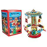 Schylling Rocket Ride Tin Collectible