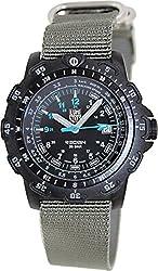 Luminox Men's 8823.KM Black Nylon Swiss Quartz Watch