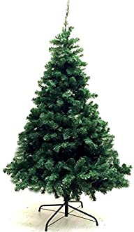 Xmas Finest 6' Feet Super Premium Artificial Christmas Pine Tree With Solid Metal Legs – Fullest…