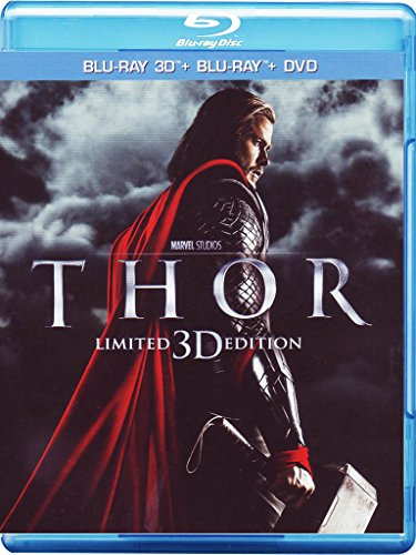 Thor (limited edition) (3D+2D+DVD) [Blu-ray] [IT Import]