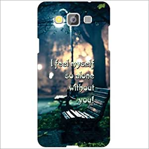 Printland No Life Without You Phone Cover For Samsung Galaxy Grand Max SM-G7200