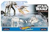 Hot Wheels Star Wars Rogue One Snowspeeder vs. AT-AT Vehicle (2 Pack)