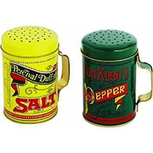 Norpro 713 Salt and Pepper Shakers, 2 Piece Set by Norpro