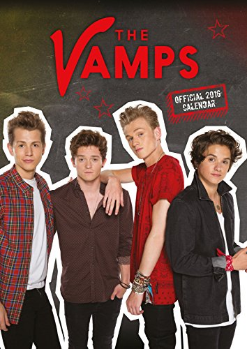 The Official the Vamps 2016 A3 Calendar