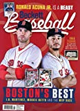Beckett Baseball Card Monthly Price Guide Value Mag Nov 2018 JD Martinez M Betts