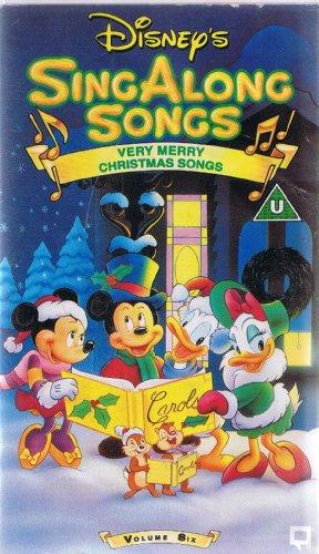 Disney s sing along songs volume 6 very merry christmas songs vhs