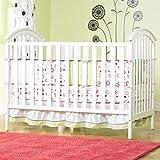 Baby Crib 41.9 H x 54.4 W x 32.1 D Abc Nursery Bedding Sets Cribs Doll Sheets Mattress Glenna Jean