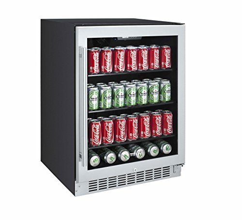 Titan 142-Can Beverage Cooler SEAMLESS Stainless Steel