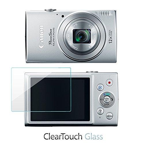 canon-powershot-elph-170-is-protector-de-pantalla-r-boxwave-cleartouch-cristal-9h-vidrio-templado-pr