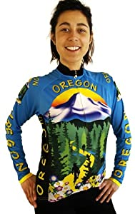 Ladies Oregon Long Sleeve Jersey by Free Spirit Wear