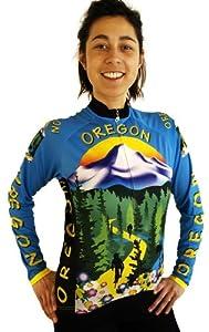 Ladies Oregon Long Sleeve Jersey by Free Spirit