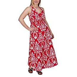 Product Image Women's Plus-Size Merona® Red/White V-Neck Sleeveless  Sun Dress