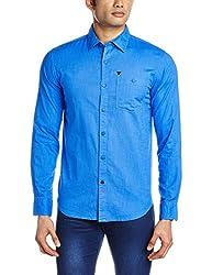 Blumerq Men's Casual Shirt (8907041097827_RECORD SOLID A 1502W_X-Large_123/C Light Blue)