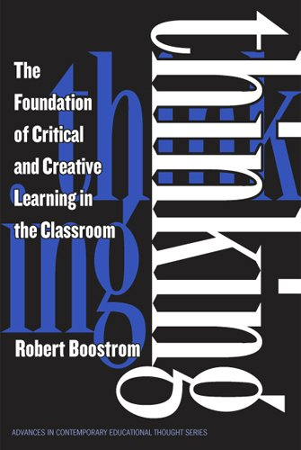 foundation for critical and creative thinking Prevent the kinds of failures of imagination and critical thinking that and more critical and creative we had to examine our most closely held beliefs.