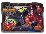 Coca Cola Collectible Phone Card: PhonePak 1 1996: Die-Cut JUMBO Mega-Phone Jeff Gordon (duPont & Coke)