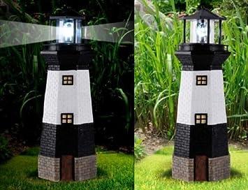 LED Licht Garten Deko Leuchte Windmühlen Leuchtturm EASYmaxx Windmühle Solar m