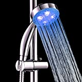 SWEON 7 Colors Automatic Changing Romantic LED Shower Head Light Faucet Bathroom Hand-held Shower head