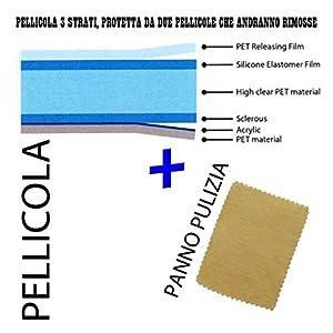 PELLICOLA PROTEGGI SCHERMO DISPLAY PER SAMSUNG I9003