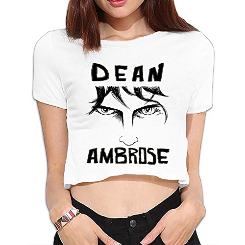 Graphic Tees Female Summer Midriff-baring With WWE Diva Dean Ambrose (Wwe Dean Ambrose Vest compare prices)