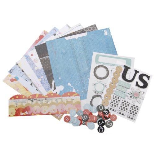 Me & My Big Ideas Debee Us 8x8 Scrapbooking Page Kit