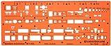 1100 échelle Trace Gabarit Darchitecte Symboles de Plan détage Installation Sanitaire Disposition des Meubles Mobilier Décoration dintérieurs Dessin Technique Traçage Illustration Architecture Maisons
