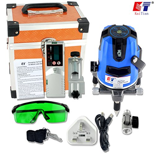 kaitian-self-leveling-laser-3-lines-1-point-automatic-laser-level-with-detector-receiver
