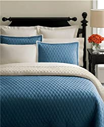 Martha Stewart Solid Diamond Standard Sham Chocolate