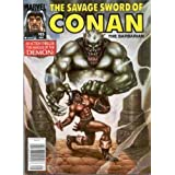 The Savage Sword of Conan #185 ~ Don Kraar