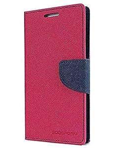 Microsoft Lumia 535 Mercury Wallet Flip case Cover (PINK)