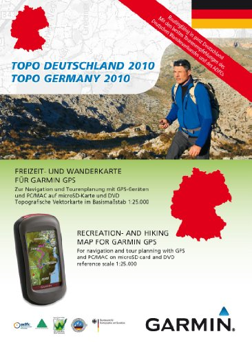 Garmin TOPO Germany - DVD and MicroSD card