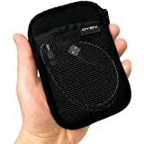 Drive LogicTM DL-53 Portable Hard Drive Carrying Case Soft Pouch (Black)