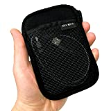 Drive Logic Portable Hard Drive Carrying Case Soft Pouch, Black DL-53