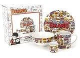 Beano 4-Piece Ceramic Breakfast Set