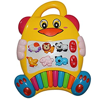 Best New Educational Baby Piano Toy. Play Musical Activity Center Learning Zoo Animals with Beautiful Lights for Toddlers & Infant by Tevelo that we recomend individually.