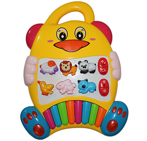 Best New Educational Baby Piano Toy. Play Musical Activity Center Learning Zoo Animals