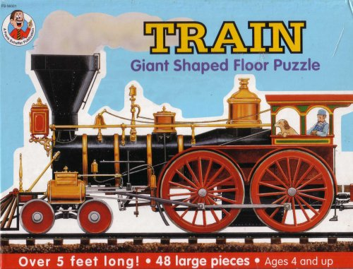 Cheap Frank Schaffer Giant Train Shaped Floor Puzzle (B000WXXUG6)