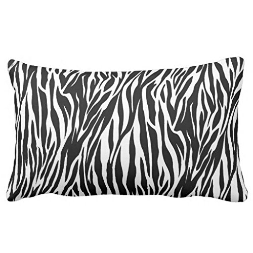 Zebra Body Pillow