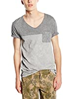 BOSS Orange Camiseta Manga Corta Tedman (Gris)