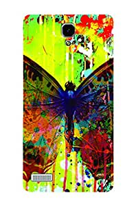 ZAPCASE PRINTED BACK COVER FOR REDMI NOTE PRIME - Multicolor
