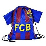 Barcelona FC Football Shirt Style Gym Sports Bag, 46 x 34cm